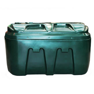 1200 Litre Low Profile Bunded Oil Tanks - Horizontal Oil Tanks