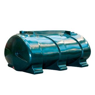 1200 litre single skin oil tank. Only available in Ireland where bunding (tank within a tank) is not a legal requirement.