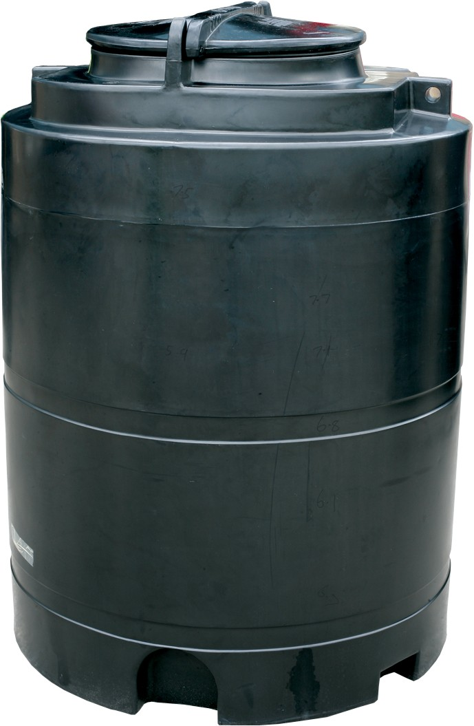 1500 litre static chemical storage tank
